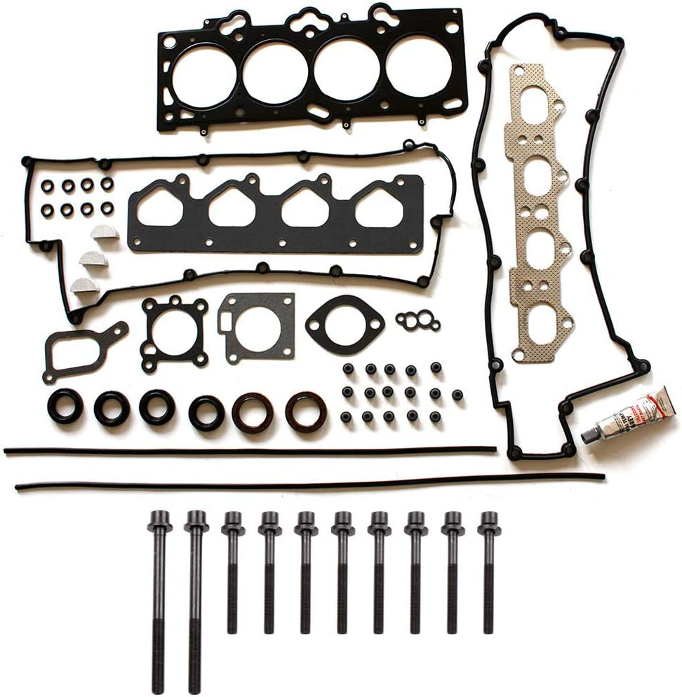 ECCPP Engine Head Manufacturer OFFicial shop Gasket Set w fit Elant Bolts 01-12 for sold out Hyundai