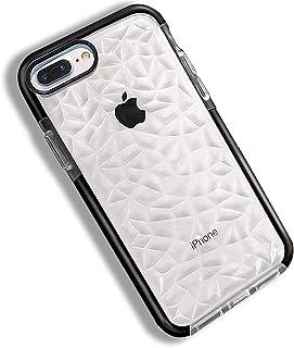 c70642a9a1a Funda iPhone 8 7 Plus, Carcasa Silicona Transparente Protector TPU Airbag  Anti-Choque Ultra