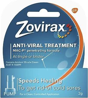 Zovirax Cold Sore Cream Pump, 2 Grams