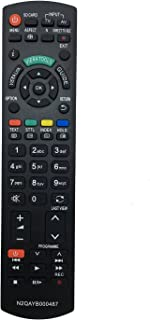 Vinabty vervangende afstandsbediening N2QAYB000487 geschikt voor Panasonic TX-P50ST30E TX-P50ST30J TX-P50ST31B TX-P50ST32Y...