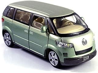HCK 2001 VW Microbus Family Van Diecast Model Toy Car in Green