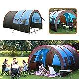 XUSHEN-HU Large Size Outdoor-Camping-Zelt Spielhaus 8-10 Personen Wasserdichtes Double Layer große...