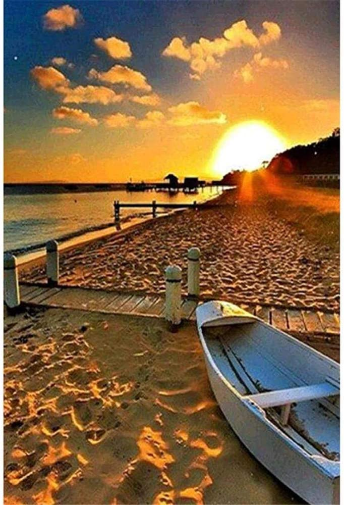 2000 5 ☆ very popular Piece Puzzle - Boat on fo Puzzles Large Superior Beach Jigsaw The