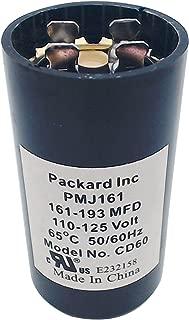 Packard PMJ161 110-125V Start Capacitor, 161-193 MFD