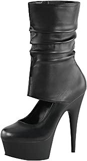 Pleaser Women's Delight-600-37 Ankle-High Boot