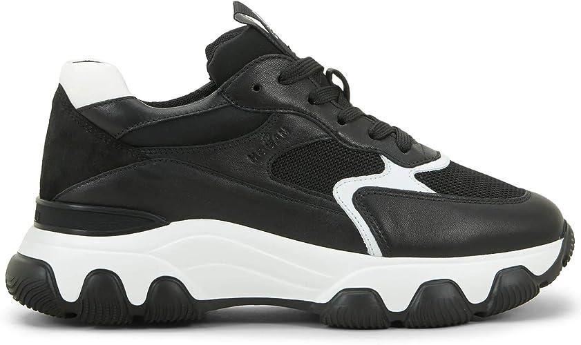 Hogan Sneakers da Donna Hyperactive Nere e Bianche - HXW5400DG60 ...