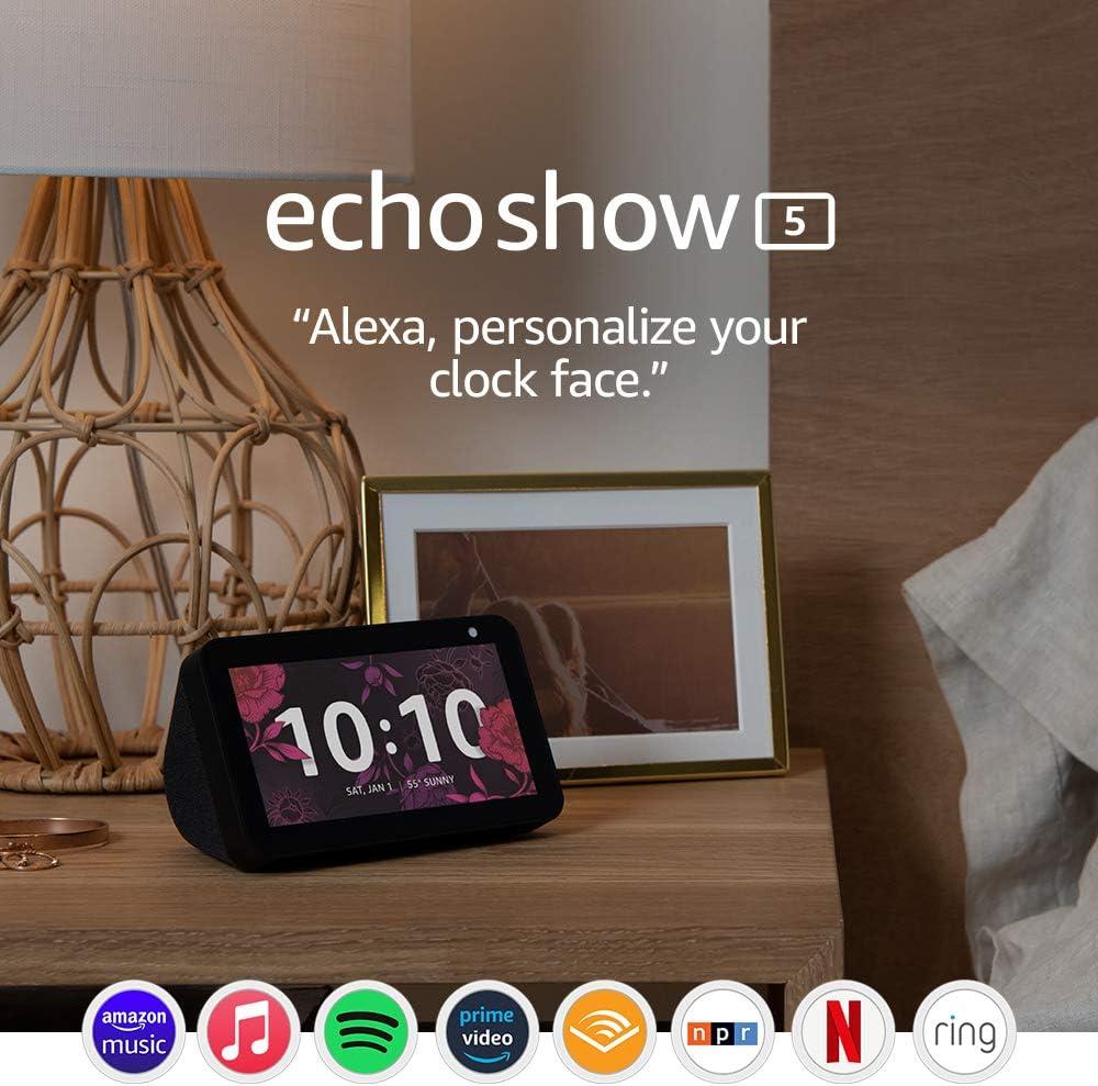 Echo Show 5 (1st Gen, 2019 release) $44.99 Coupon