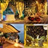 LE Tenda Luminosa LED 3 x 3m 306 LED, Luci Stringa Catena Luminosa Impermeabile Bianco Caldo 3000K, 8 Modalità di Illuminazione e Funzione Memoria per Decorazioni Interni, Feste, Natale, ecc. #2