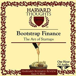 Bootstrap Finance audiobook cover art