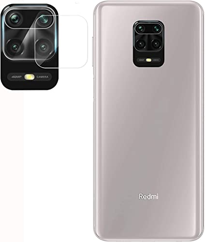 tough lee camera lens protector tempered glass for mi redmi note 9 pro note 9 pro max poco m2 pro transparent edge to edge full screen coverage with easy installation kit pack of 1