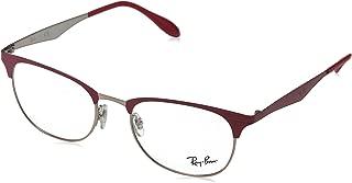 Ray-Ban Unisex RX6346 Eyeglasses Copper Top On Bordeaux 52mm