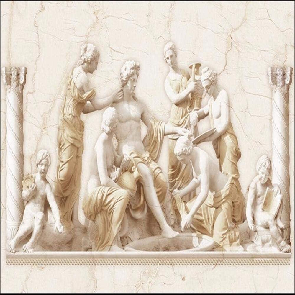 ZCLCHQ 3D Wallpaper Statues Deities Mural Wall Bar Beauty products Max 84% OFF Living KTV