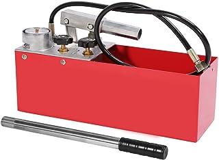 Bomba Hidráulica de Prueba de Presión de Tubería Probador de Mano de Fugas de Tubería de Agua Tanque de Agua Incorporado