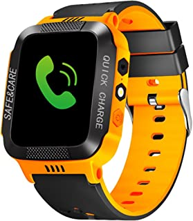 Kids Smart Watches GPS Tracker Phone Call for Boys Girls SIM Card Slot Digital Wrist Watch