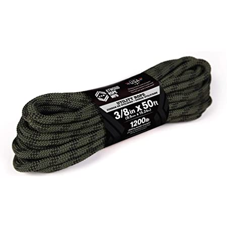 Atwood Rope Distributeur de Cordon Noir 38 m
