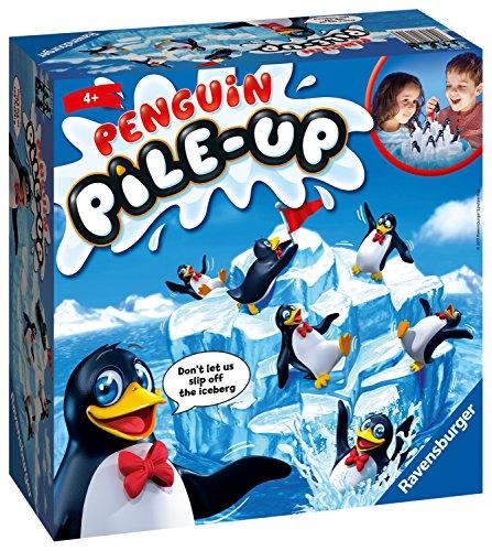 Ravensburger 21315 Penguin Pile Up Balance Niños de 5 años en adelante, un Divertido y rápido Juego Familiar Que Puedes Jugar una y Otra Vez