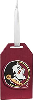 Team Sports America Florida State University Team Logo Gift Tag Ornament