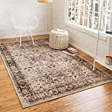 Unique Loom Imperial Collection Modern Traditional Vintage Distressed Cream Area Rug (2' 0 x 3' 0)
