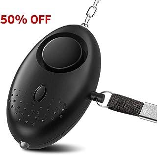 Hanleydepot Personal Alarm Keychain, 130 dB Safesound Safety Emergency Alarm with Led Light, Self Defense for Women, Kids, Eldery