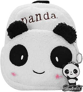 Mignon - Mochila escolar para niños de 1 a 3 años, diseño de oso panda y búho