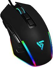Mouse Gaming RGB PC Gaming Mice Metal, 8000 Adjustable...