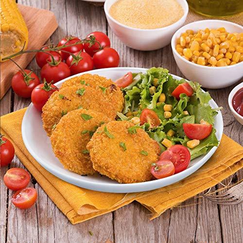 KitchenTour Porcelain Pasta Dessert Salad Bowls - Large and Durable Serving Bowl Set 26 Ounce - Dishwasher and Microwave Safe - Set of 6, White