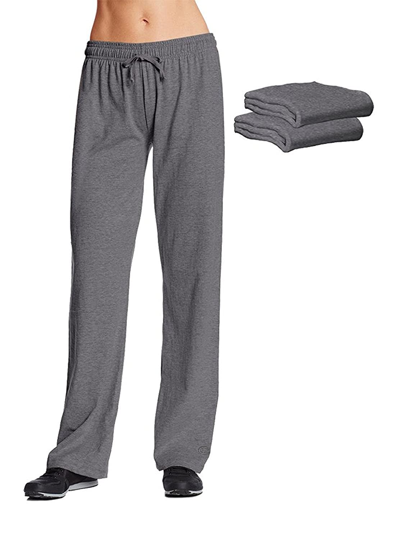 Champion m7421?Womens Jersey Pant Granite Heather 3パック