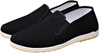 ZooBoo Men Traditional Old Beijing Cloth Kung Fu Shoes Taichi Casual Shoes