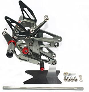 Sharplace 1 Satz Motorrad Fu/ßrastenanlage Fu/ßrasten Montage f/ür Yamaha YZF-R6 2003-2005 R6S 2006-2009