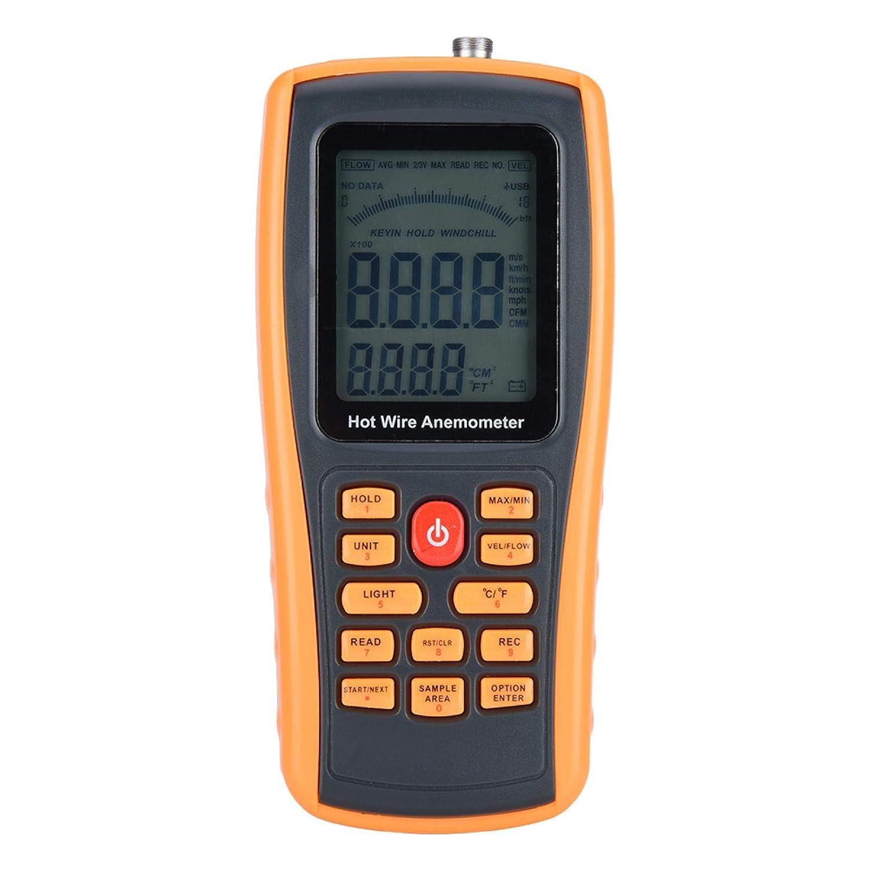Digital Anemometer Very popular Handheld Hot Sp Wire Max 64% OFF Wind