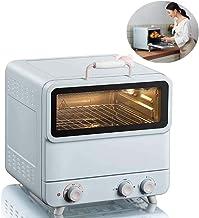 Horno de vapor multifunción para el hogar, totalmente automático, pequeño, horno eléctrico, 20 L, doble capa, diseño de gran capacidad, 100-250 ° C, ajuste de temperatura