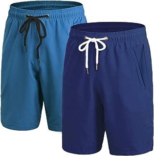 Best mens gym shorts zip pockets Reviews