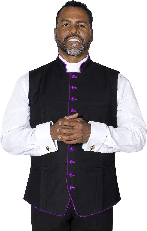 MENZ Clergy Vest for Preacher Pastor