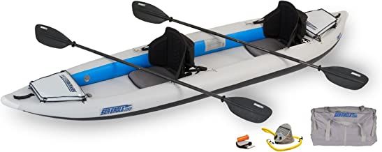 Sea Eagle Fast Track Inflatable Kayak with Pro Accessory Package