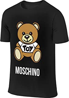 Moschino Toy Bear Leisure Walk Black T Shirts