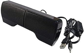 guizhoujiufu Radio Speaker Home Speakers Mini Portable USB Stereo Speaker Soundbar for Notebook Laptop Mp3 Phone Music Pla... photo