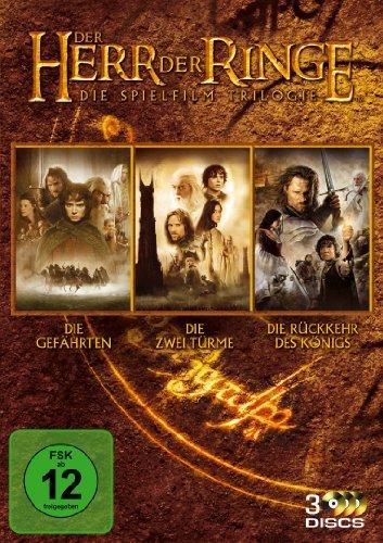 DVD * Der Herr der Ringe - Die Spielfilm Trilogie (3 Discs) [Import allemand]
