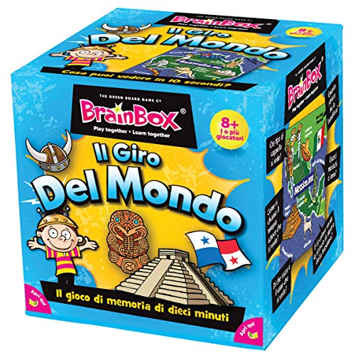 The Green Board Game Co. Brainbox–World (Italiano)