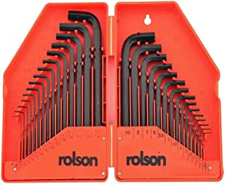 Rolson 40345 sexkantsnyckelsats, 30 stycken