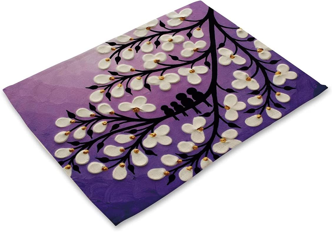 Washable Home Brilliant Placemats Set Placem Heat-Resistant of Max 54% A surprise price is realized OFF 4