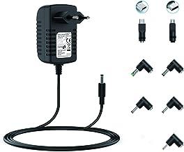 NEUE DAWN Fuente de alimentación 5V 3A / 2.5A / 2A / 1.5A / 1A con 7 Conectores para Tableta/Bluetooth/Altavoz/Consola/Raspberry pi 3 /enrutador/HUB/telefonía/cámara/Tableta,Cargador 5v 3a
