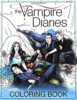 The Vampire Diaries Coloring Book  Coloring Books For Teens And Adults Fan Of The Vampire Diaries