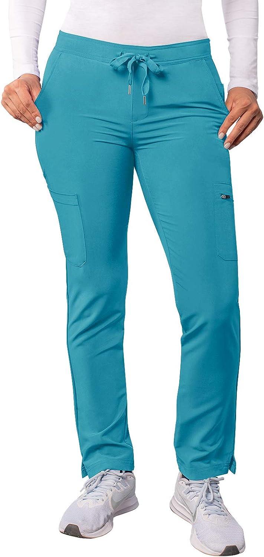 Adar Addition Max 70% OFF Scrubs for Miami Mall Women - Skinny Leg Scr Cargo Drawstring