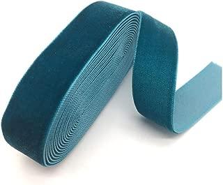 /¡Es bonito Cinta de terciopelo 7 mm nailon azul marino