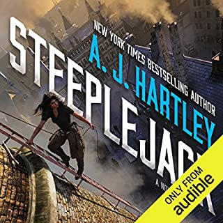 Steeplejack                   By:                                                                                                                                 A. J. Hartley                               Narrated by:                                                                                                                                 Noma Dumezweni                      Length: 11 hrs and 25 mins     89 ratings     Overall 4.4