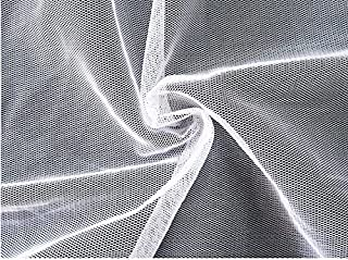 OriginA 10ft-Wx66-L Mosquito Netting Fabric Large Bed Screen Garden Planting Anti Insect Flies Net for DIY Canopy Tent White