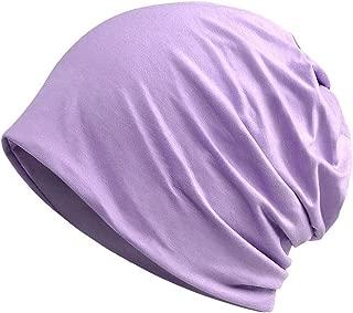 Womens Cotton Summer Chemo Hat Beanie Scarf - Breatfable Beanie Cap Bandana For Cancer Gift