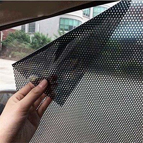 ECYC Auto-Sonnenschutz-Aufkleber für Seiten- und Heckscheibe, 2pcs/Lot 70x49cm UV-Aufkleber Auto-Sonnenschutz-elektrostatische Aufkleber