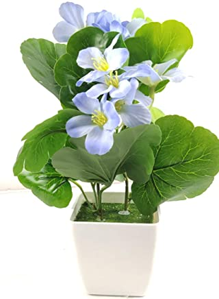 Artificial Flower with Pot, Bonsai, Small Plant for Home and Office