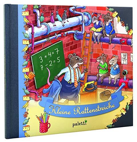 Kleine Rattenstreiche - Illustriertes Kinderbuch mit den Rattenkindern Max, Rico und Ruby